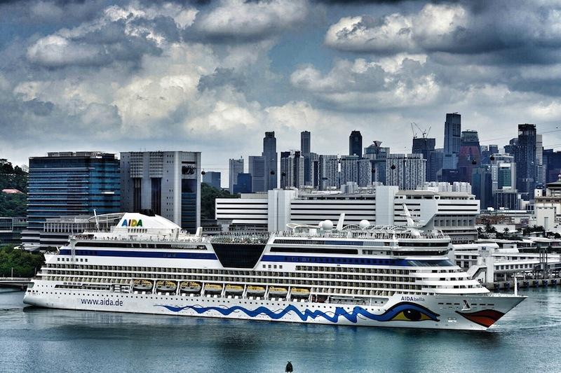 Singapur ist auch bei Kreuzfahrttouristen beliebt