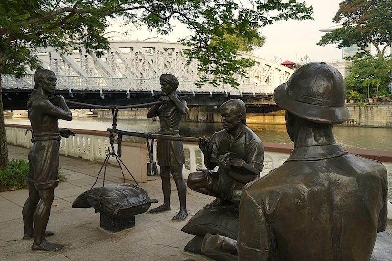 Relegion und Geschichte, die sind in Singapur lebendig und man begegnet ihnen täglich und an vielen Orten