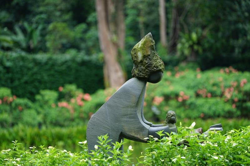 Der Botanische Garten ist Anziehungspunkt für alle, die Ruhe und Beschaulichkeit suchen