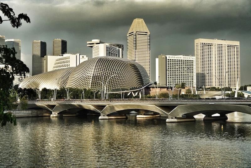 Das moderne Singapur - geprägt von moderner Architektur