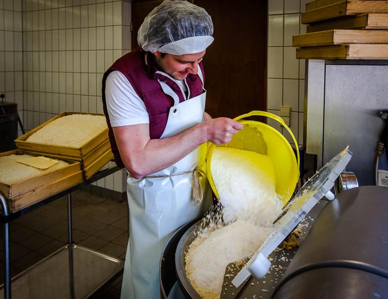 Peter Koch verwendet ausschließlich Bio-Zutaten für seine Miso-Pasten / © FrontRowSociety.net, Foto: Georg Berg