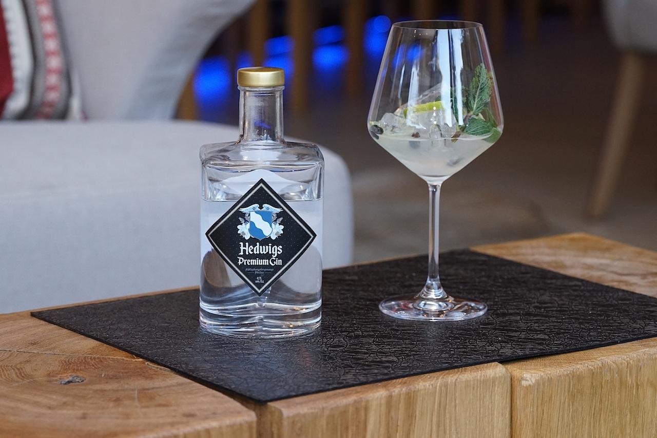 Hedwigs Premium Gin ist ein echtes Ischgler Original und auf der Getränkekarte der Fliana Bar zu finden