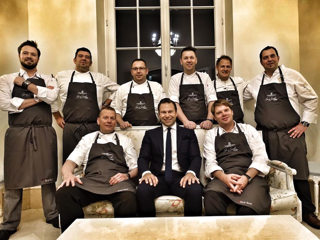 """Auch zur Küchenparty """"Ronny Siewert & Friends"""" sind Spitzenköche aus ganz Deutschland mit am Start"""