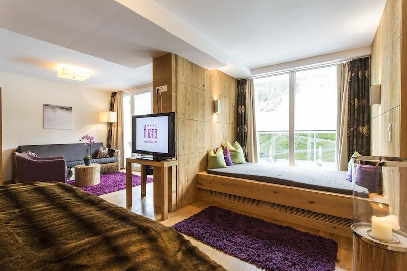 4 Sterne Superior Hotel Fliana: Wohnen in komfortabler Wohlfühlatmosphäre
