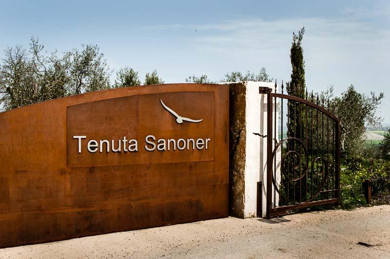 Oberhalb des Hotels liegt gut zu Fuß erreichbar das junge Weingut der Familie Sanoner / © FrontRowSociety.net, Foto: Georg Berg