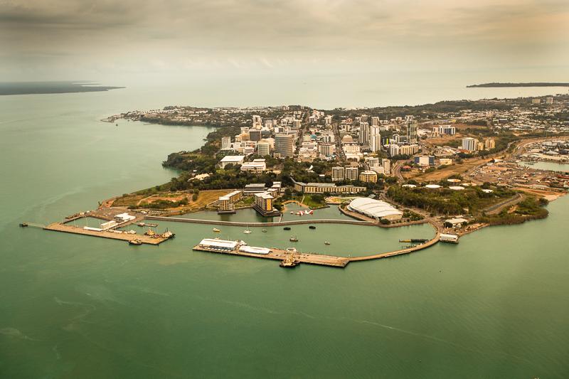 Darwin, die Hauptstadt des Northern Territory ist nach einem Zwischenstopp in Singapur von Deutschland aus schneller zu erreichen als Sydney oder Melbourne / © FrontRowSociety.net, Foto: Georg Berg