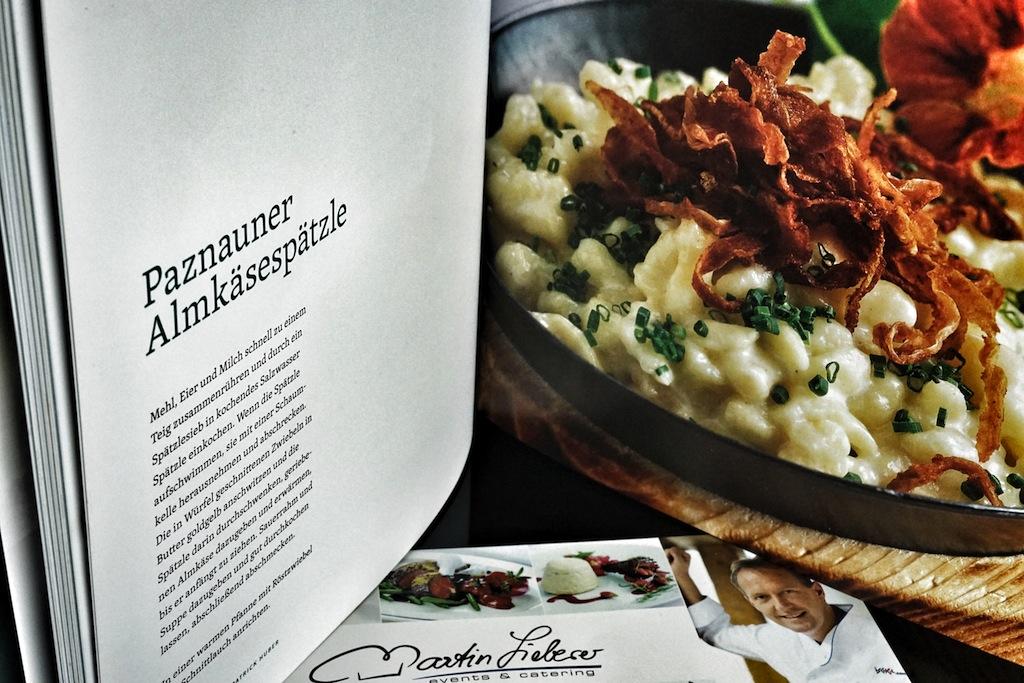 Der Paznauner Kochclub wird zum Verräter; denn er gibt die Paznauner Küchengeheimnisse preis