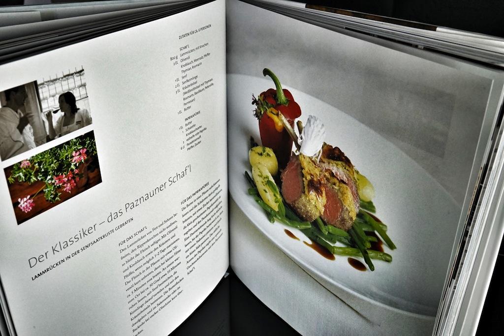 """Wer etwas über alle Sinne beim Kochen erfahren möchte, ist mit dem Kochbuch von Martin Sieberer """"Von Sieben Sinnen"""" richtig beraten"""