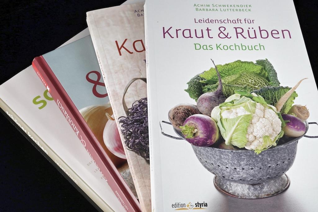 Sternekoch Achim Schwekendiek liebt Bodenständiges; seine Kochbücher bestätigen seine Wurzeln