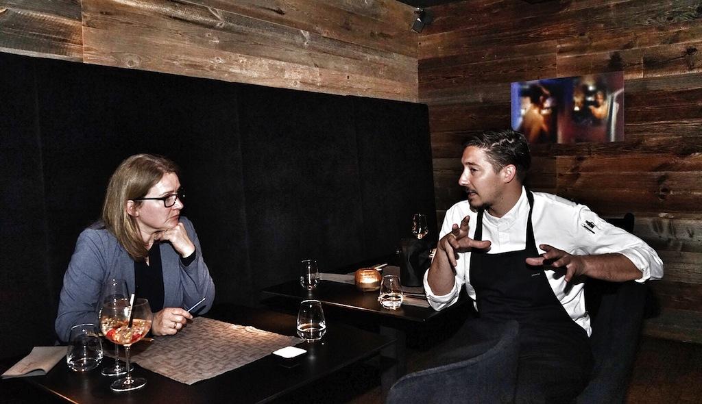 Die besten Restaurants in Ischgl: Raphael Herzog ist mit seinen gerade einmal 25 Jahren Küchenchef im Hauben-Restaurant LUCY WANG Wang in Ischgl