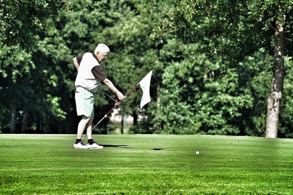 Ob alt oder jung, bei der Challange des Hamelner Golfclubs sind alle Altersklassen willkommen