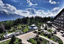 Das 5 Sterne Superior Interalpen Hotel Tyrol liegt traumhaft schön