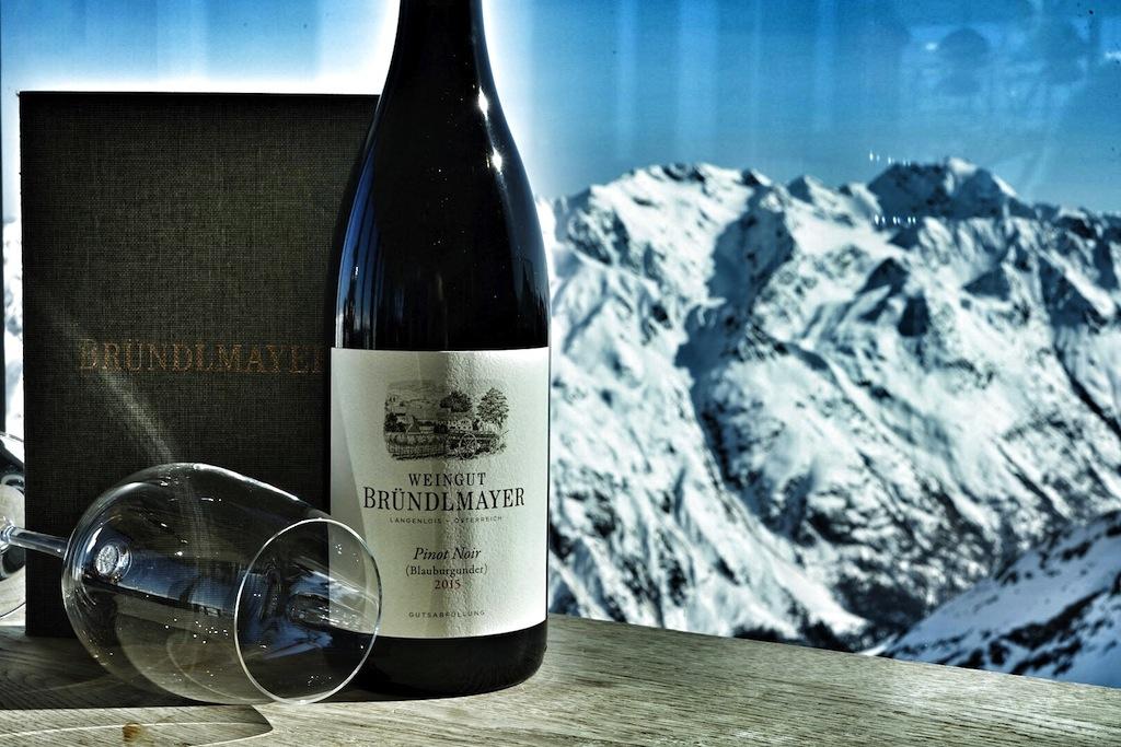 Einen großartigen Pinot Noir aus dem Hause Bründlmayer hatte Kellermeister Andreas Wickhoff dabei