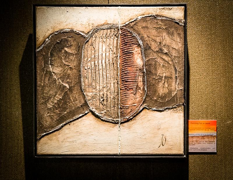 Einige Werke des Lenkerhof-Eigentümers Jürg Opprecht hängen im Hotel und ihr Verkaufserlös geht an die BPN-Stiftung / © FrontRowSociety.net, Foto: Georg Berg