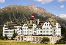 Das Cresta Palace ist ein Luxushotel in Celerina, Schweiz / © FrontRowSociety.net, Foto: Georg Berg