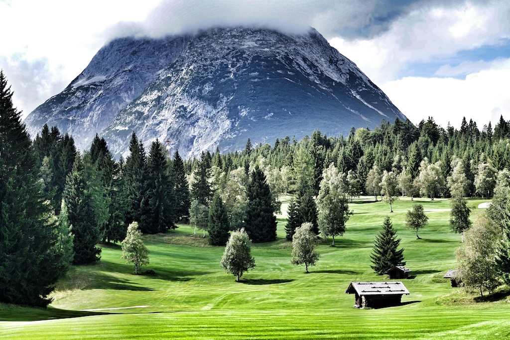 Traumhaft gelegen: Der Golfplatz von Seefeld-Wildmoos in Tiro