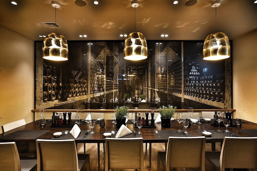 Der private Fine Dining Room steht für Gruppen ab 8 und bis zu 14 Personen bereit
