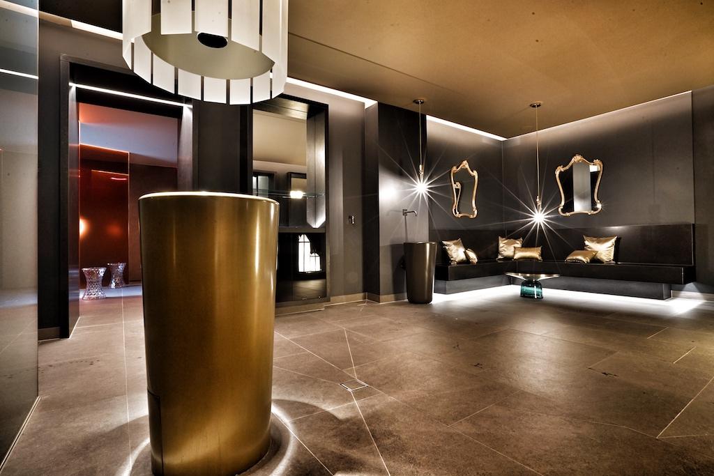 Das Spa des Luxushotel ist eine Welt aus Eleganz, Komfort und mondäner Lebensart / © Redaktion FrontRowSociety.net