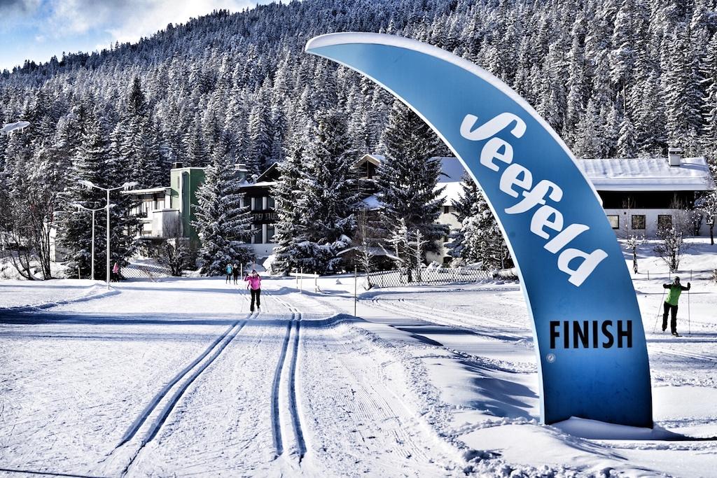 Seefeld in Tirol ist Austragungsort der Nordischen Ski WM 2019 und bei Freizeitsportlern erfreut sich Langlauf großer Beliebtheit