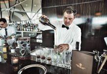 Heute fand im ehrenwerten Luxushotel Fontenay das Tasting des Vintage Brandys Reserva del Mamut von Torres statt