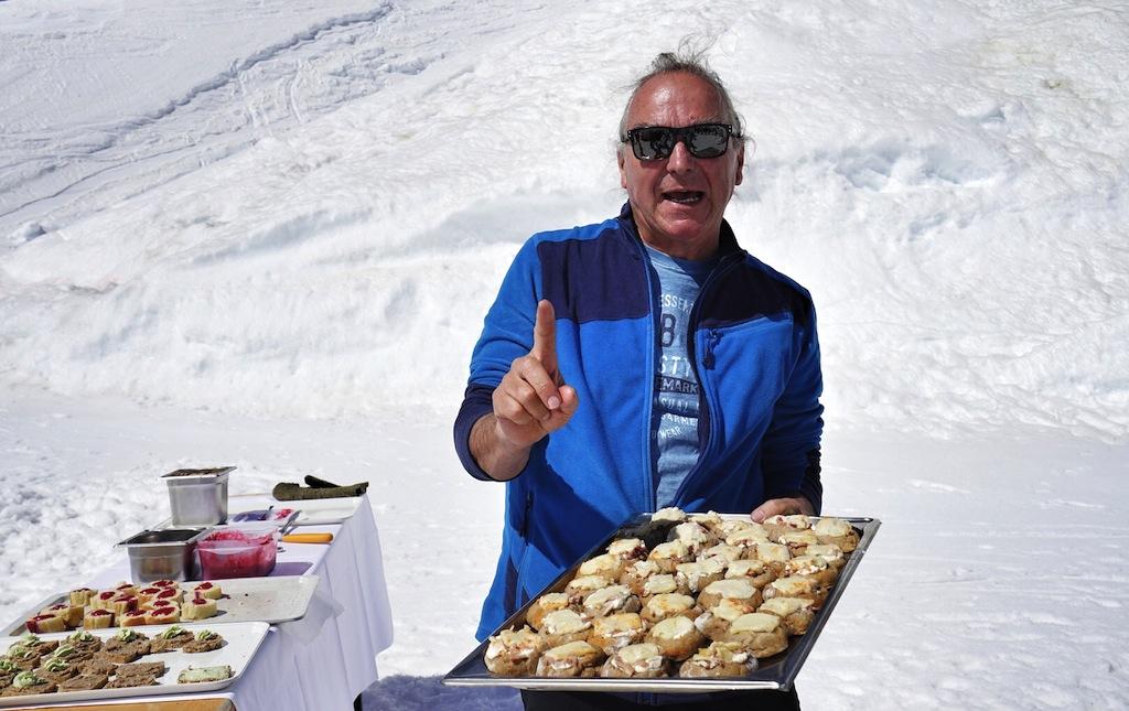 Vom Urtiroler Norbert Ruetz gab es die besten Brotvariationen Tirols zu kosten