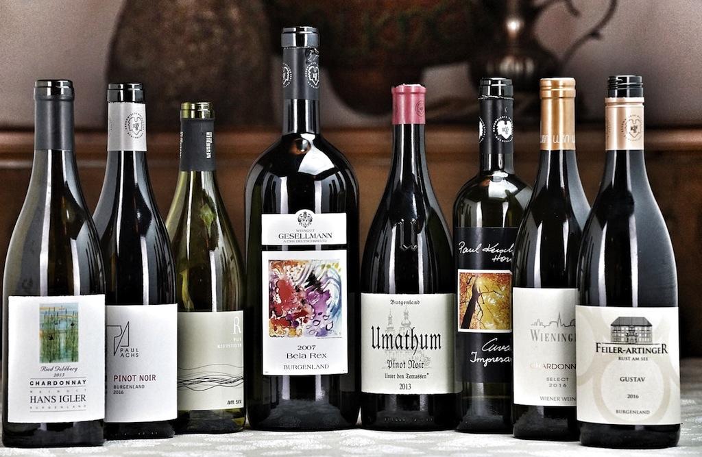 Grandioser vinophiler Auftakt mit ausgesuchten Weinen der Winzer aus dem Burgenland