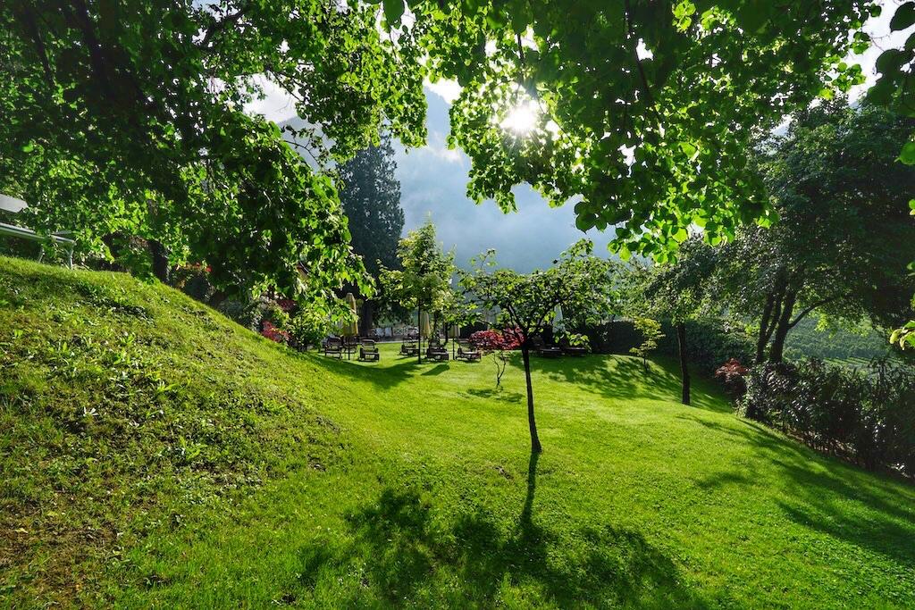 Auch der Garten des Castel Fragsburg hat so seine Geheimnisse