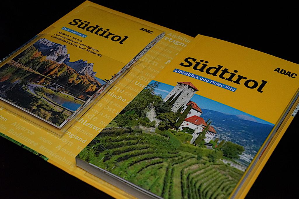 Das Reise-Set: ADAC Reiseführer Südtirol und Maxi-Faltkarte (mit ADAC Traumstraße)