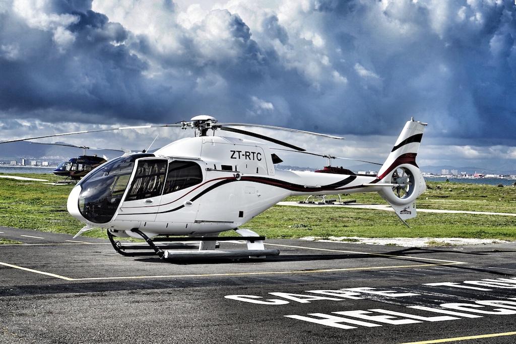Mit dem Airbus H120 und H130 Baureihen besitzt Cape Town Helicopters eine moderne Helikopter-Flotte