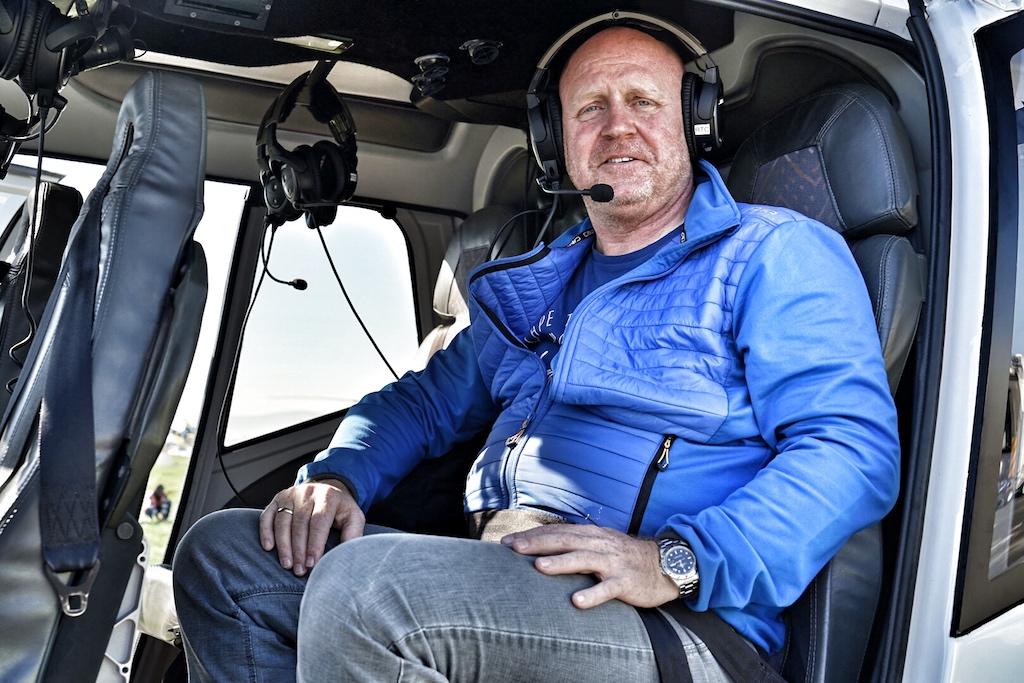 Das Team von FrontrowSociety - The Magazine - hier der Herausgeber Andreas Conrad - hat sich mit Cape Town Helicopters in die Luft begeben, um die Schönheit der Stadt von oben zu erleben