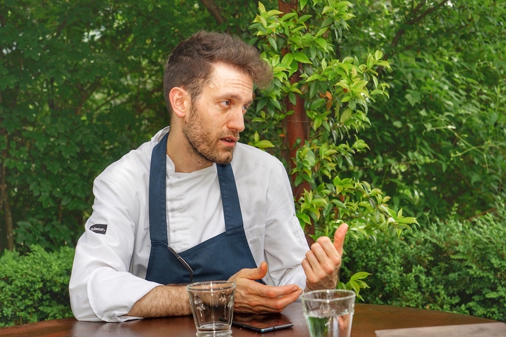 Chef de Cuisine Diego Sales plaudert über seine Philosophie des Kochens