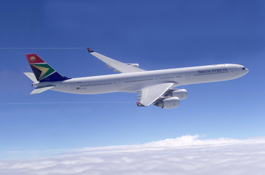 Ein Foto vom Erstflug des A340-600 - mit fast 14.000 Kilometern Reichweite das ideale Langstreckenflugzeug
