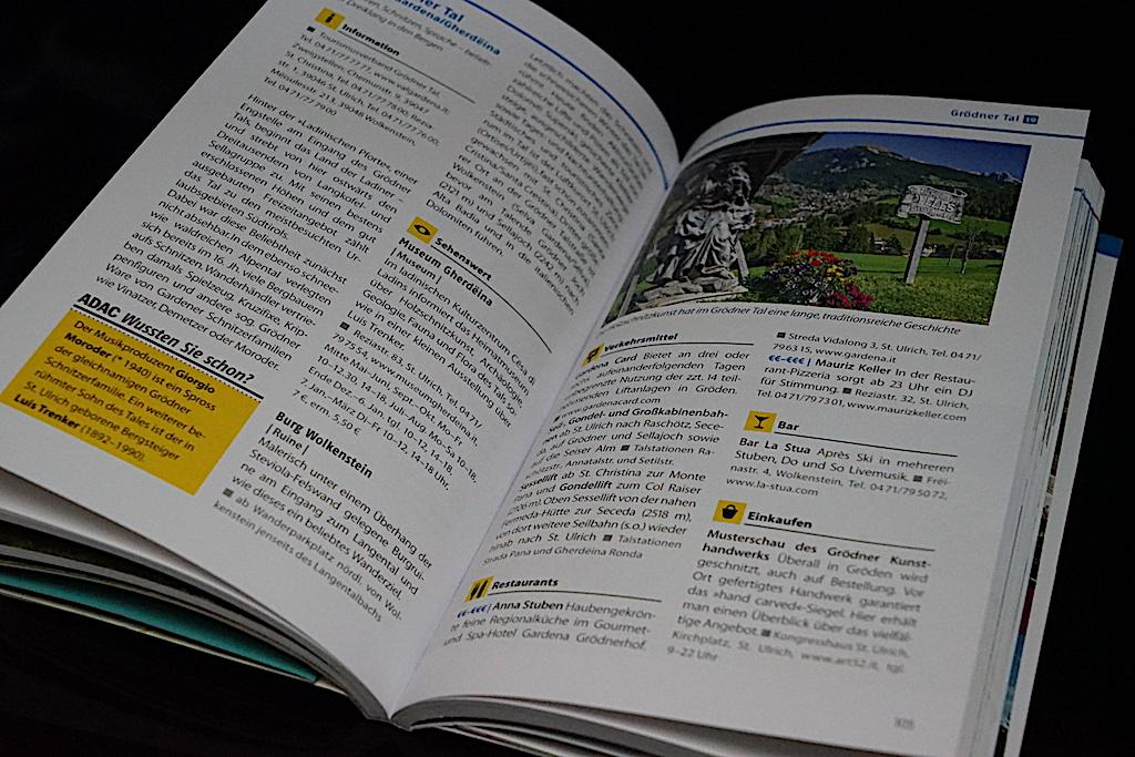 ADAC Reiseführer: Im Detail sind die Highlights von Südtirol beschrieben