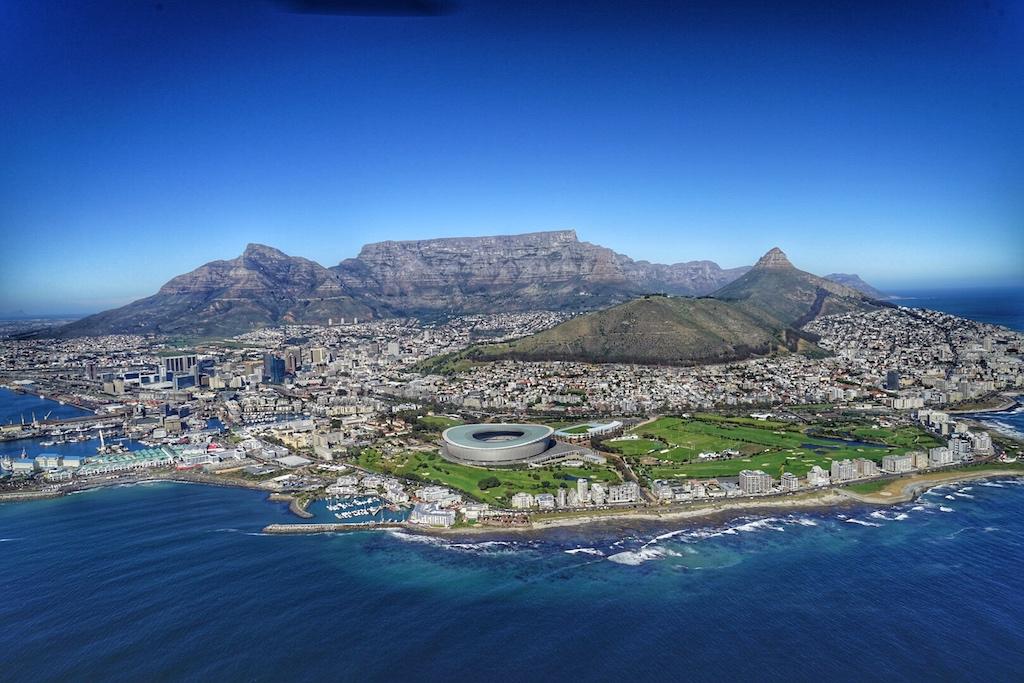 Rundflug mit Cpae Town Helicopters über Kapstadt