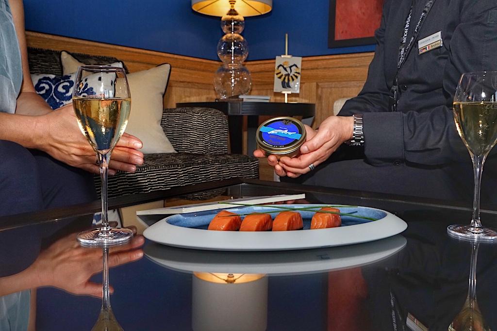 Balik Lachs und Kaviar stehen hoch im Kurs der Feinschmecker