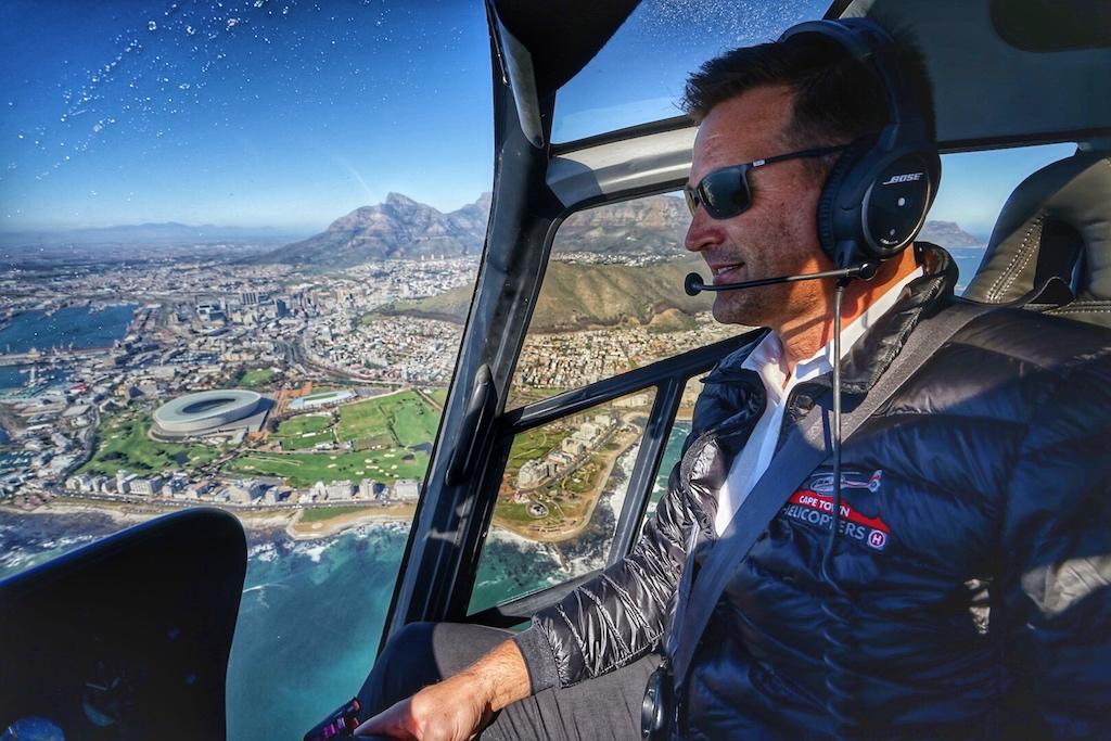 Vielen Dank an unseren Piloten Werner, der uns nicht nur sicher auf den Boden zurückgebracht, sondern auch in luftiger Höhe einen guten Guide abgegeben hat
