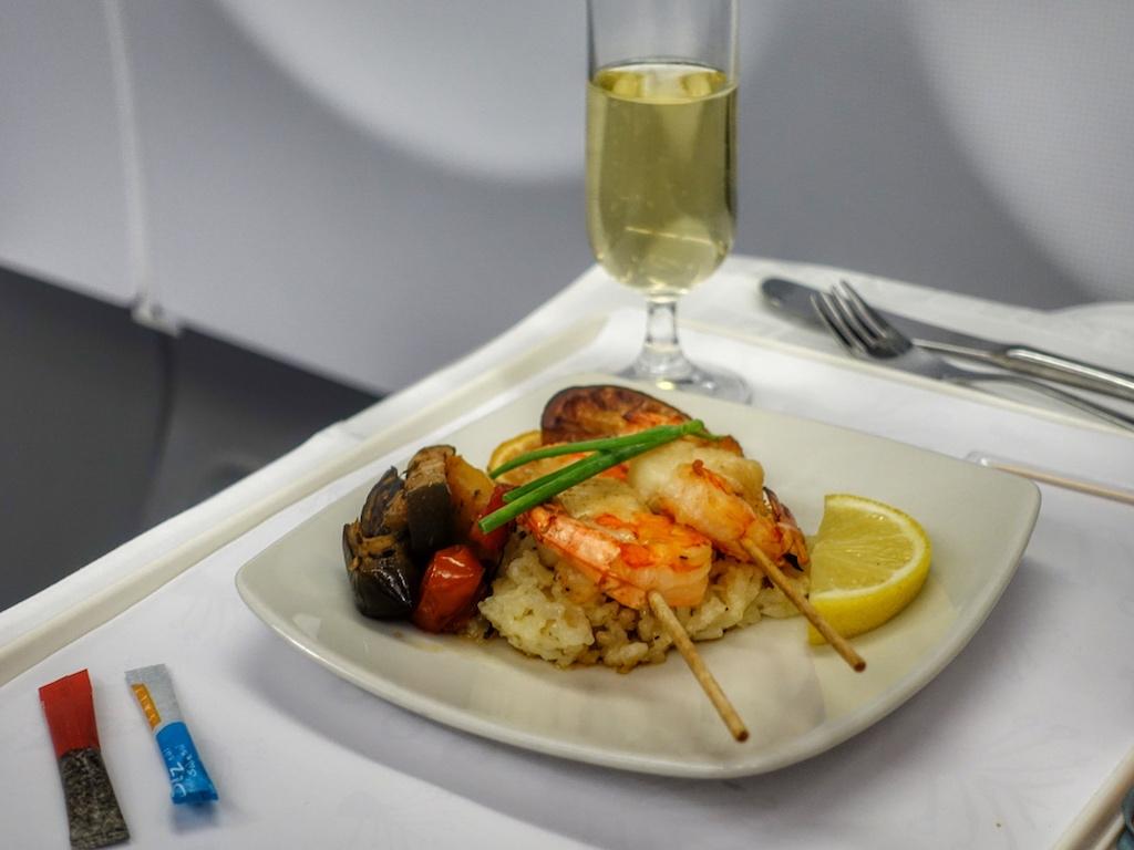 Das kulinarische Angebot komplettiert das komfortable Reisen mit South African Airways