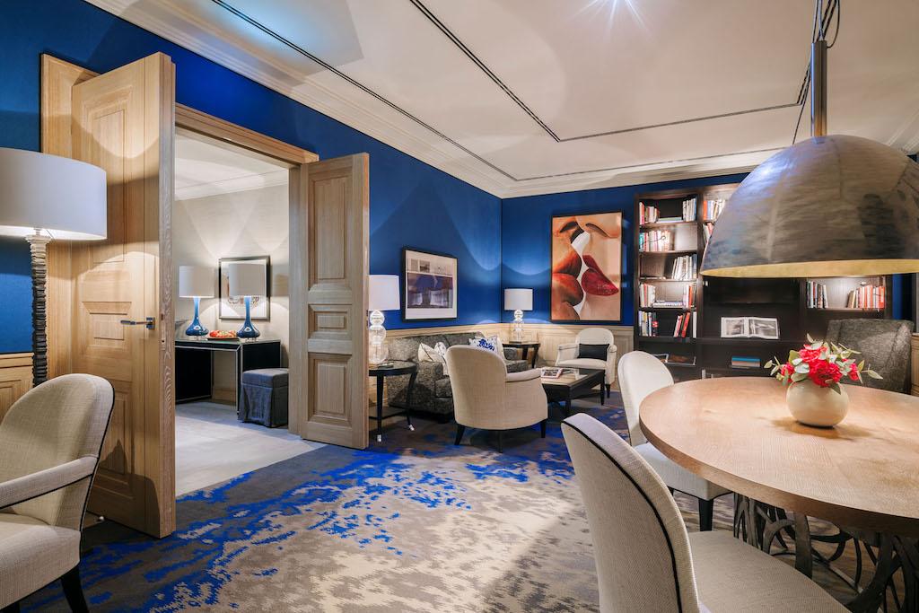 In unserer privaten Blue Royal Suite hatten WEMPE und CAVIAR HOUSE & PRUNIER ihre Produkte vorgestellt