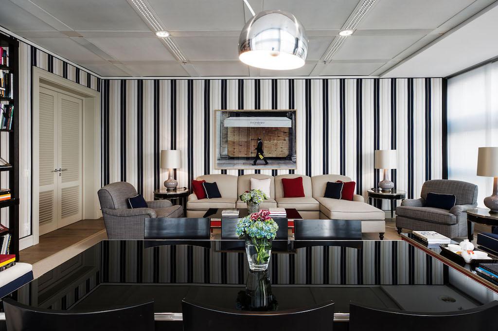Die Präsidenten Suite wird von Staatsgästen und königlichen Familien gerne genutzt, ....