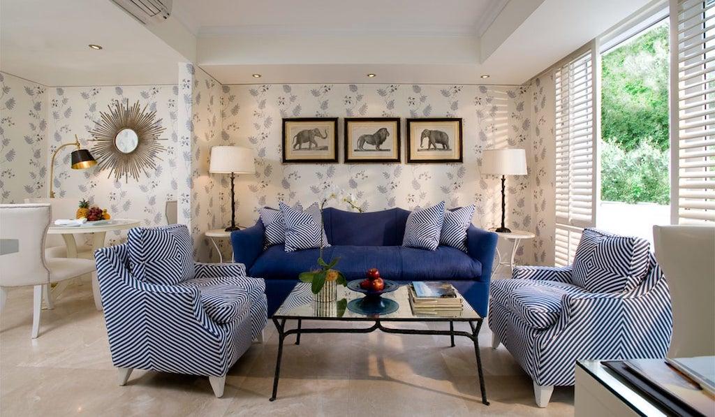 Die verschiedenen Suiten und Zimmer werden von den unterschiedlichsten Designs geprägt