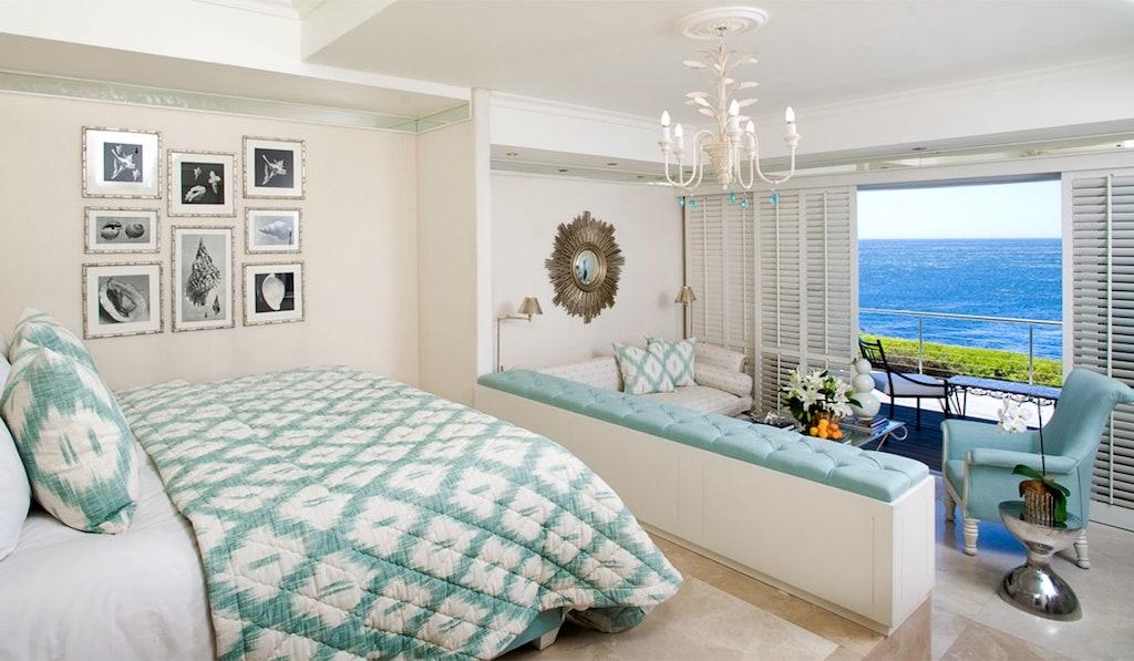Die Gästezimmer und Suiten mit Blick auf den Ozean sind sehr gefrag