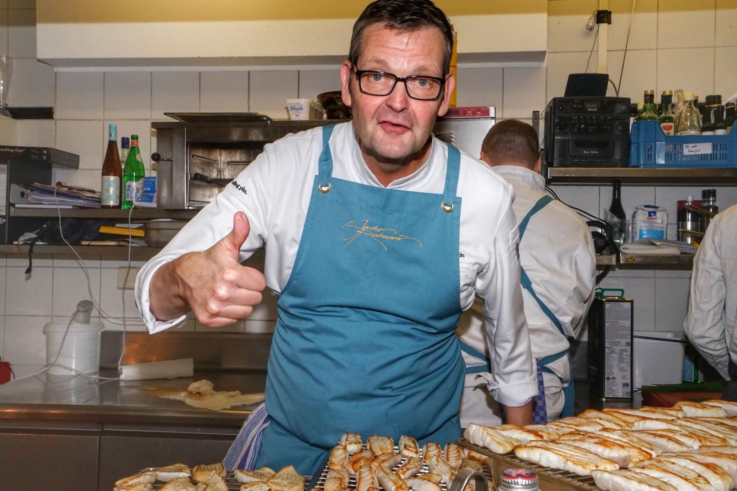 2 Sterne Koch Thomas Martin prägt als Küchenchef seit über 20 Jahren das Jacobs Restaurant im 5 Sterne Superior Hotel Louis C. Jacob in Hamburg
