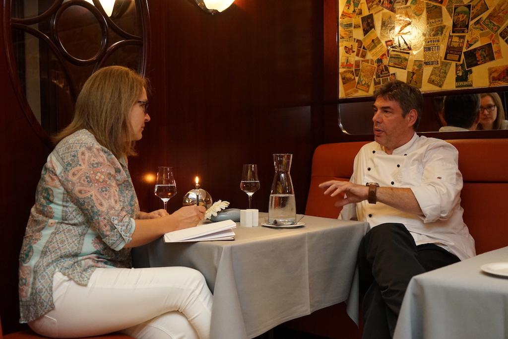 Chef de Cuisine Frank Bouje ist inzwischen 16 Jahre am Steuer des Steaktrain