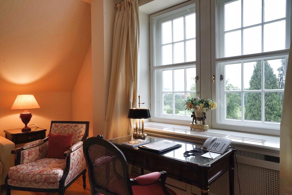 Mit sicherem Gespür für Stil und Eleganz wurden die Suiten und Gästezimmer im Schlosshotel Münchhausen gestaltet