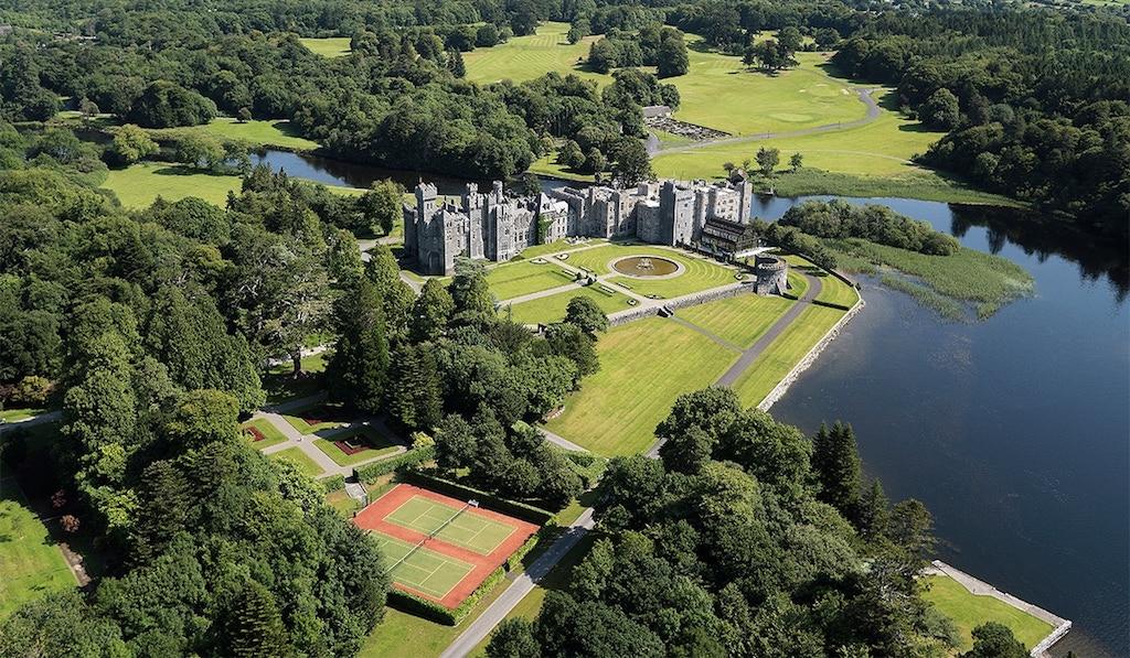 In Irland eines der schönsten Schlosshotels: Ashford Castle