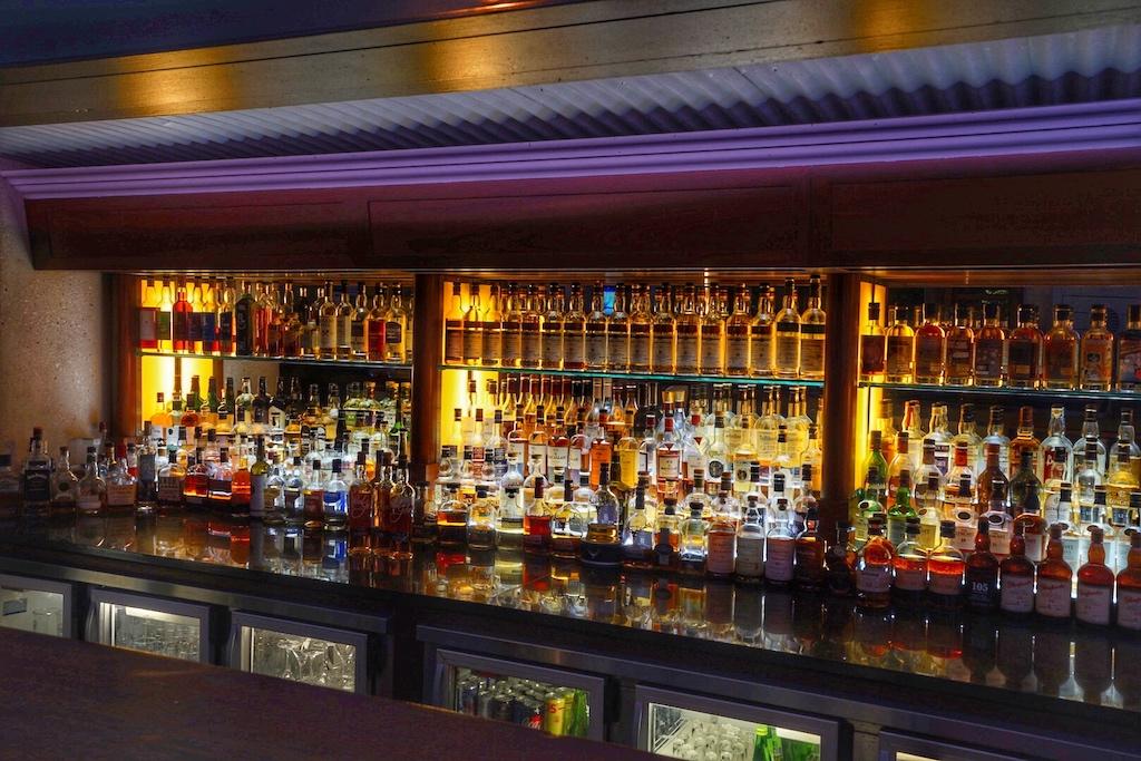 Die wohl umfangreichste Auswahl an Whiskys ist in der Bascule Bar zu finden