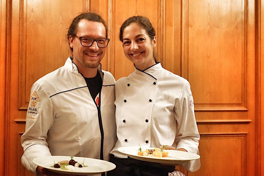 Benni und Meike Blickheuser waren leider nur am Sonntag als Gastköche aktiv