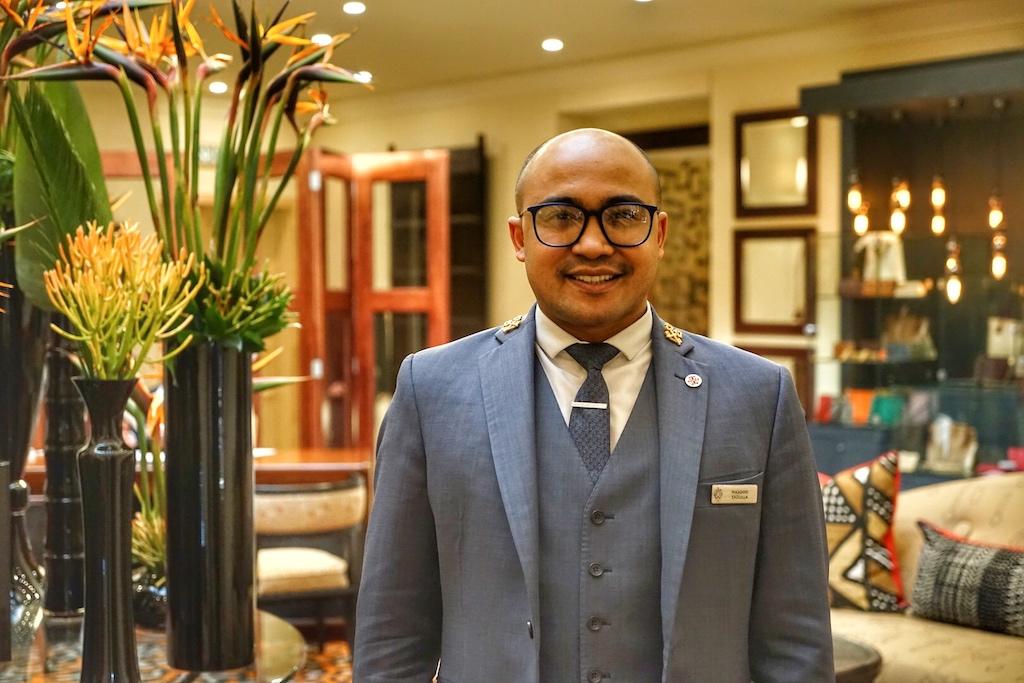 Ein ganz besonderes Lob verdient Masood, der Head-Concierge des Saxon Hotel, Villas & Spa - er ist belesen, weit gereist und führt seinen Job mit Leidenschaft und Liebe