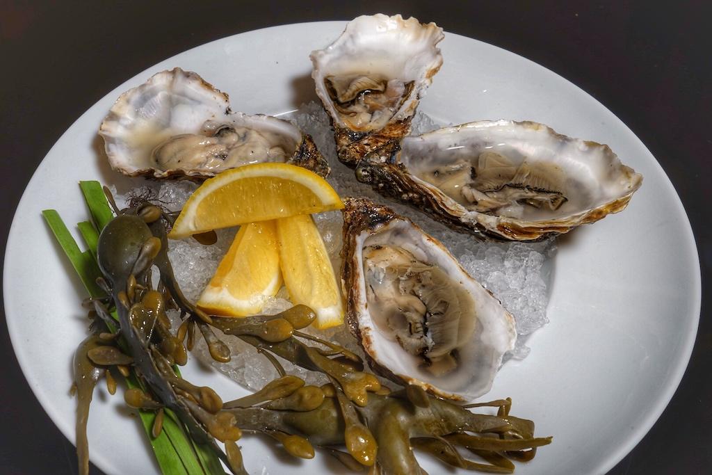 Das Frischeparadies sorgte mit frischen Auster Fine de Claire für Genuss de Mee
