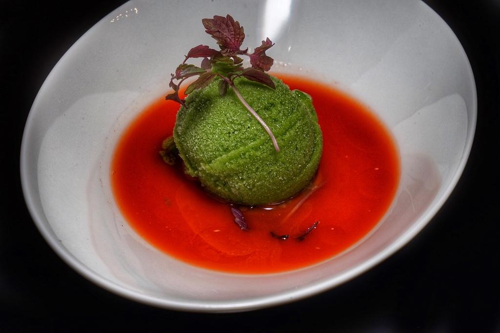 ... gönnten sich die Gourmets - wie auch hier Basilikum-Wassermelone und Guanaja - nicht nur als letzten Gang